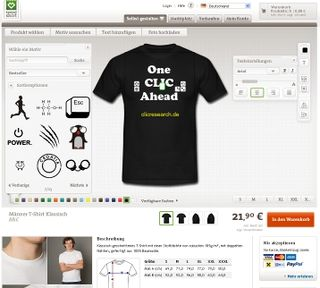 Spreadshirt - Look of the new configurator