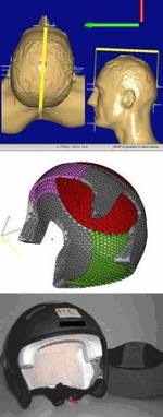 From 3D scanning to a custom helmet