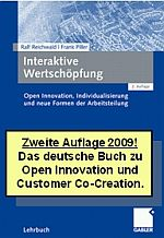 2nd edition of our book on customer co-creation (published in German in April 2009)